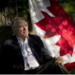 """LUCAS OLENIUK / TORONTO STAR  Former goalie and MP Ken Dryden's latest project is a mantra he has minted specifically for Canada Day. The gnomic phrase he's been bandying about is: """"What is in us to be?"""""""