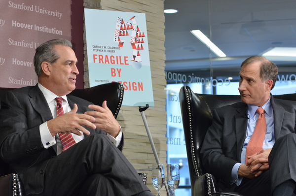 Fragile By Design book launch