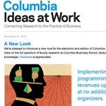 Calomiris interviewed by <i>Ideas At Work</i>